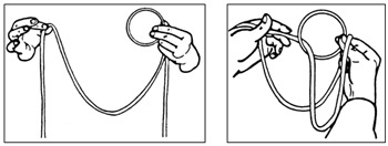 CLOSE-UP RING AND ROPE ROUTINE